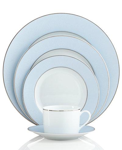 Bernardaud Dinnerware, Dune Blue Limoges Collection