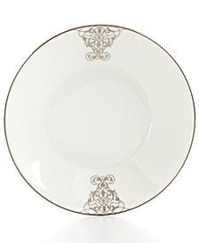 Vera Wang Wedgwood Dinnerware, Imperial Scroll Saucer