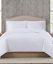 400TC Percale Cotton Full/Queen Duvet Set