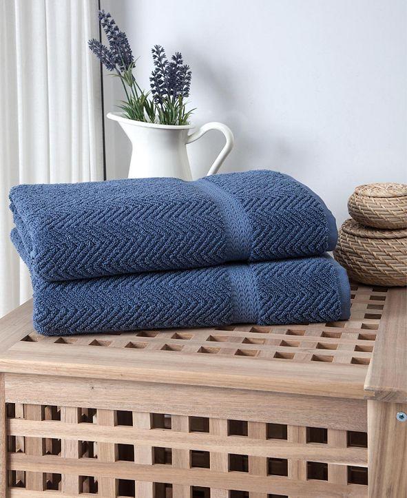 OZAN PREMIUM HOME Maui 2-Pc. Bath Towel Set