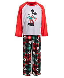 Little & Big Boys 2-Pc. Mickey Mouse Pajama Set