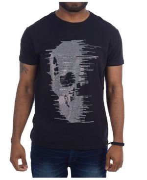 3D Graphic Fading Skull T-Shirt