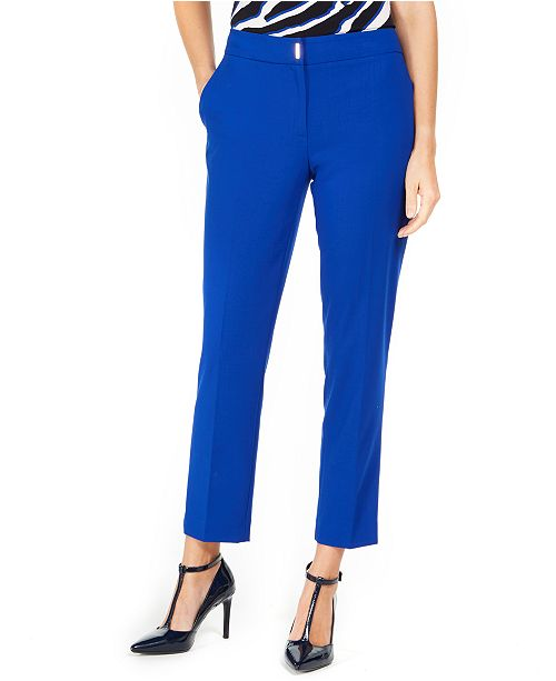 Calvin Klein Straight-Leg Dress Pants