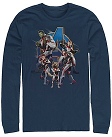 Men's Avengers Endgame Suit Group, Long Sleeve T-shirt