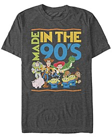 Pixar Men's Toy Story Made in the 90's, Short Sleeve T-Shirt