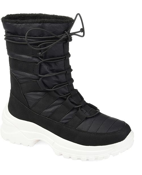 Journee Collection Women's Icey Fashion Winter Boot
