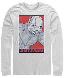 Men's Avengers Endgame Ant-man Pop Art Poster, Long Sleeve T-shirt