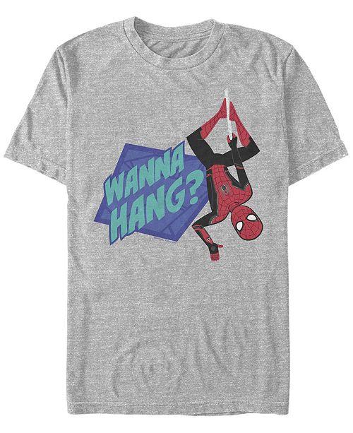 Marvel Men's Spider-Man Far From Home Wanna Hang, Short Sleeve T-shirt