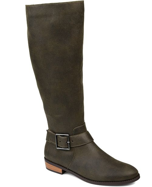Journee Collection Women's Wide Calf Winona Boot