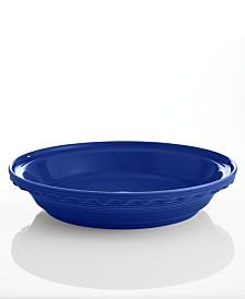 """Fiesta Cobalt 10.25"""" Deep Dish Pie Baker"""