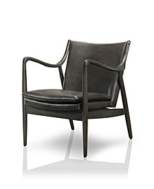 Garret Curved Arms Accent Chair
