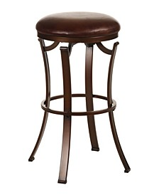 Kelford Backless Swivel Counter Height Stool