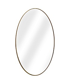American Art Decor Oval Wall Vanity Infinity Mirror