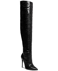Winnie Harlow x Harlow Thigh-High Slouch Boots