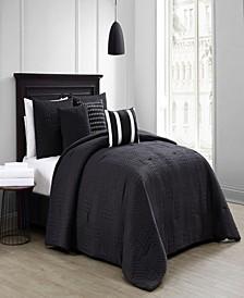 Yardley 10-Piece Embossed Queen Bedding Set