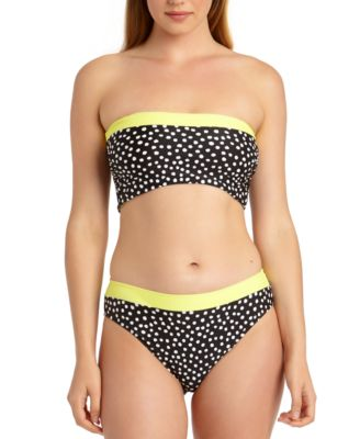 Juniors' Reversible Bandeau Bikini Top, Created For Macy's