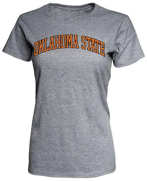 J America Women's Oklahoma State Cowboys Arch T-Shirt