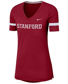Women's Stanford Cardinal Fan V-Neck T-Shirt
