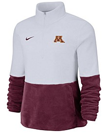 Women's Minnesota Golden Gophers Therma Long Sleeve Quarter-Zip Pullover