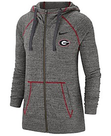 Women's Georgia Bulldogs Gym Vintage Full-Zip Jacket