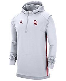 Men's Oklahoma Sooners Pregame Quarter-Zip Pullover