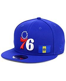 Philadelphia 76ers Flawless Flag 9FIFTY Cap