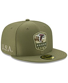 Atlanta Falcons On-Field Salute To Service 59FIFTY-FITTED Cap