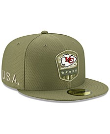 Kansas City Chiefs On-Field Salute To Service 59FIFTY-FITTED Cap