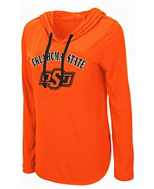 Women's Oklahoma State Cowboys Lightweight Hooded Long Sleeve T-Shirt