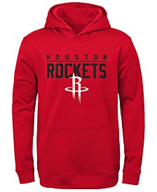 Big Boys Houston Rockets Fleece Hoodie