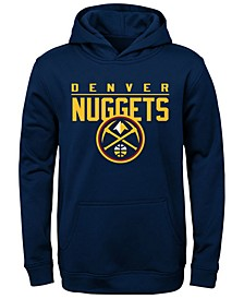 Big Boys Denver Nuggets Fleece Hoodie