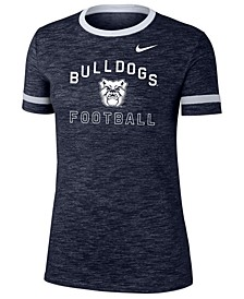 Women's Butler Bulldogs Slub Fan Ringer T-Shirt