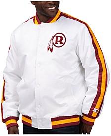 Men's Washington Redskins The D-Line Starter Satin Jacket