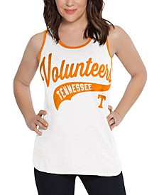 Women's Tennessee Volunteers Tailsweep Colorblock Tank