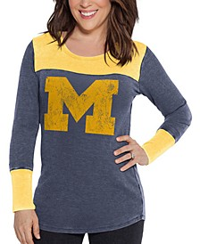 Women's Michigan Wolverines Thermal Long Sleeve T-Shirt