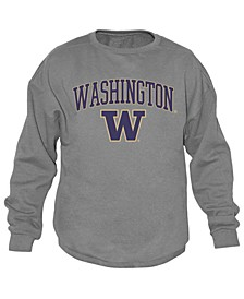 Men's Washington Huskies Midsize Crew Neck Sweatshirt