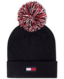 Tommy Hilfiger 3-Color-Pom Ski Hat