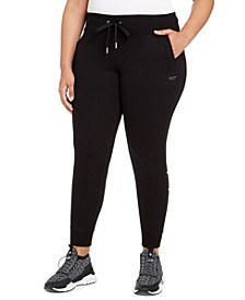Plus Size Logo Jogger Pants