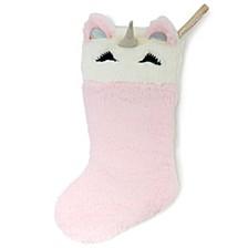 Unicorn Christmas Stocking, Online Only