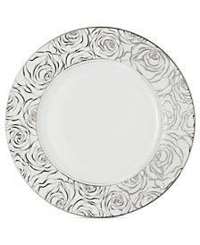 Monique Lhuillier Waterford Dinnerware, Sunday Rose Salad Plate