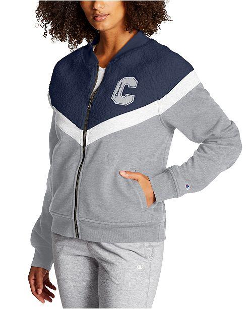 Champion Women's Heritage Fleece Bomber Jacket