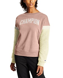 Heritage Fleece Colorblocked Sweatshirt
