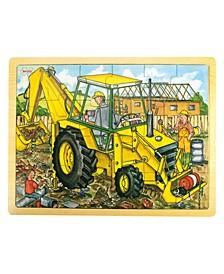 24 Piece Tray Puzzle, Digger