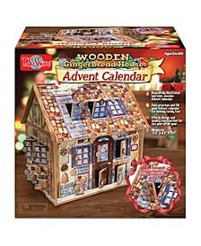 Gingerbread Deluxe Wooden Advent Calendar