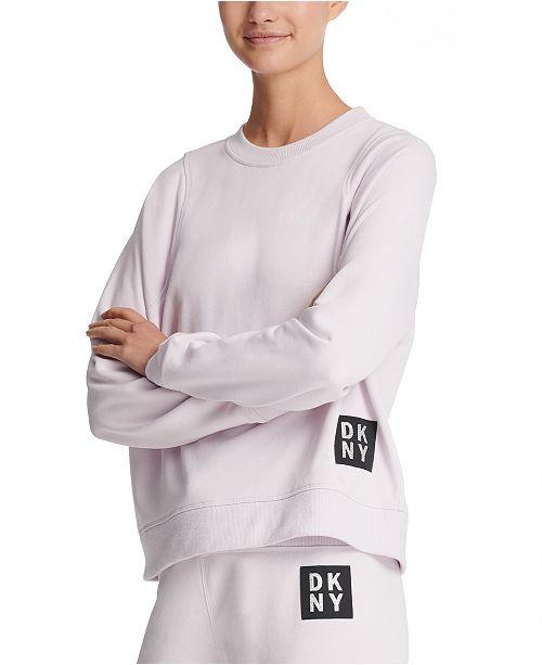 DKNY Sport Logo-Patch Sweatshirt