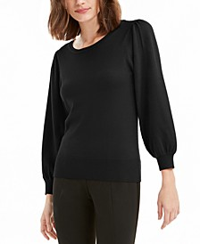 Puff-Sleeve Sweater, Created for Macy's