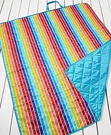 Rainbow Stripe Beach Blanket, Created for Macy's