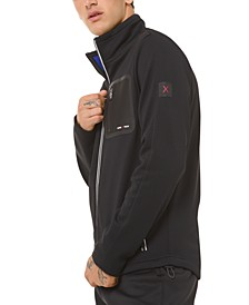 Men's Kors X Tech Full-Zip Sweater