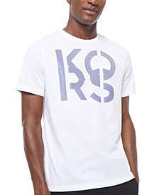 Men's 3D Stacked Logo Graphic T-Shirt