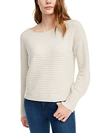 Juniors' Ribbed Sweater